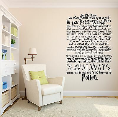 1 Of 3FREE Shipping In This House We Do Potter Harry Potter Wall Decal  Quote Lettering Vinyl Sticker