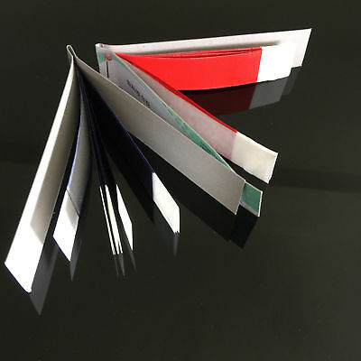 Dental Articulating Paper Practical Soft Thin Strips Red/ Blue 10 Sheet *20 Book 2