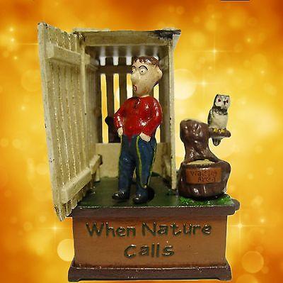 Mechanische Spardose Ruf der Natur Weihnacht Geschenk Vintage Deko Spielzeug 2
