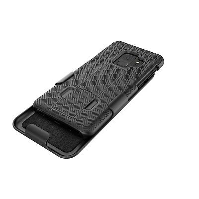 SAMSUNG GALAXY S7 S8 S9 / Plus HOLSTER BELT CLIP COMBO CASE COVER WITH KICKSTAND