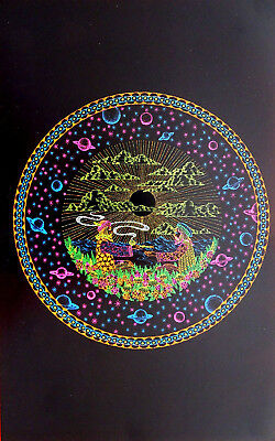 Choose from 60 different Psychedelic Blacklight Poster reproductions 1960's-70's 6