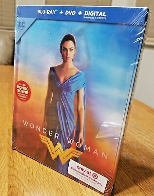 Wonder Woman Target Exclusive Ultra Rare Lenticular DigiBook Blu-ray+DVD 3