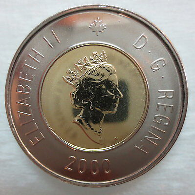 New Effigy $2.00 2003 Canadian Prooflike Toonie