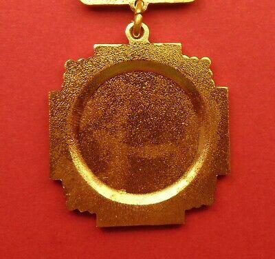 Russian Soviet CHERNOBYL LIQUIDATOR MEDAL Atomic Disaster Badge ORIGINAL A-Cond. 4