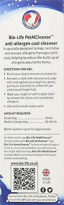 Bio-Life PetalCleanse Dog Allergy Relief solution 350ml