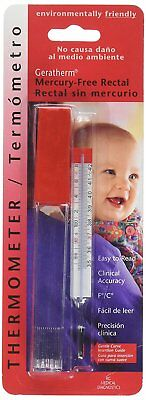 Geratherm Termometro in/di vetro senza mercurio - temperatura corporea - clinico 2
