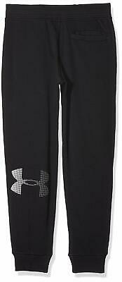 Under Armour UA French Terry Youth Boy's Joggers Sweatpants Youth Medium Black 2