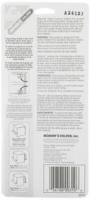 2 Pack Mommy's Helper Bi-Fold & Closet Door Slide-Lok Child Safety Lock 70302-2 2