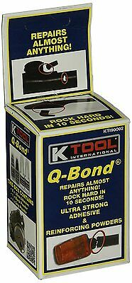 Q-Bond Qb2 Ultra Strong Adhesive And Filler Powders (Repairs In Ten Seconds) 2