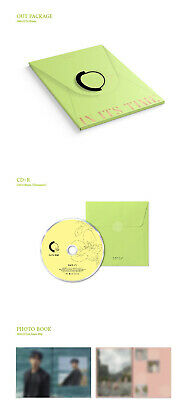 ONEUS IN ITS TIME 1st Single Album CD+POSTER+Photo Book+3p Card+F.Poster+Sticker 9