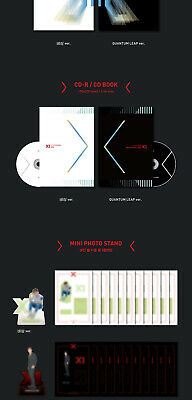 X1 [FLY:QUANTUM LEAP] Album 2 Ver SET+POSTER+2Book+2Stand+2Card+2Mark+2Pre-Order 6