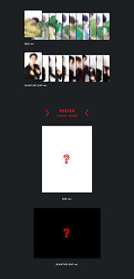 X1 [FLY:QUANTUM LEAP] Album 2 Ver SET+POSTER+2Book+2Stand+2Card+2Mark+2Pre-Order 8