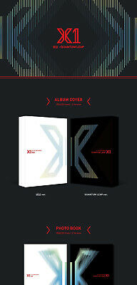 X1 [FLY:QUANTUM LEAP] Album 2 Ver SET+POSTER+2Book+2Stand+2Card+2Mark+2Pre-Order 5