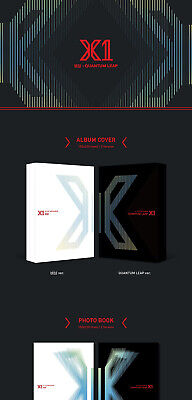 X1 [FLY:QUANTUM LEAP] Album 2 Ver SET+POSTER+2Photo Book+2Stand+2Card+2Book Mark 5