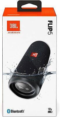JBL Flip 5 Portable Waterproof Bluetooth Speaker - Black 2