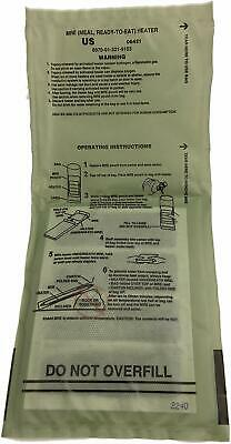 Sopakco Case of 12 MRE Meals Ready To Eat Emergency Food Rations - In Stock AL 7