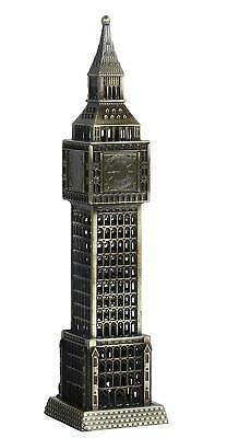 "London Big Ben Clock Tower Showpiece with Watch Collectible Antique Showpiece 7"" 3"