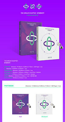 TXT THE DREAM CHAPTER:ETERNITY Album CD+POSTER+Photo Book+Sticker+3 Card SEALED 2
