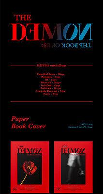 DAY6 BOOK OF US:THE DEMON 6th Mini Album CD+POSTER+Photo Book+Card+etc+Pre-Order 4
