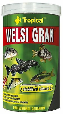 TROPICAL WELSI GRAN multi-ingredient sinking granules for bottom feeding fish 2