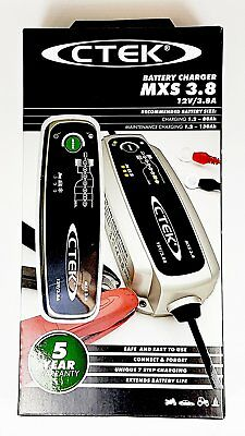 CTEK MXS 3.8 Multi-Functional 7-Stage Battery Charger, 12V 3.8 Amp (EU Plug) 3
