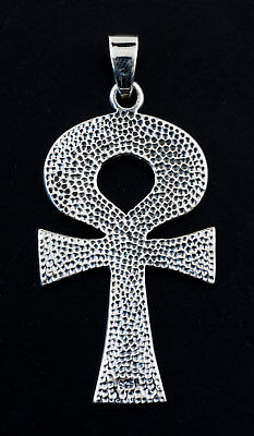 124002 Pendentif Croix de Vie Anck ARGENT NEUF