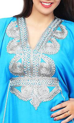 Moroccan Caftan Women kaftan Arabian Beach Dress Fancy Abaya Middle East Cheap 4
