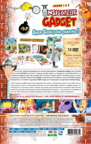★ Inspecteur Gadget ★Intégrale des 2 Saisons - Edition Collector Limitée 12 DVD 3