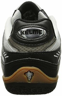 6712686d1 ... Kelme Star 360 Michelin Mens Leather Indoor Soccer Shoes White   Black 4