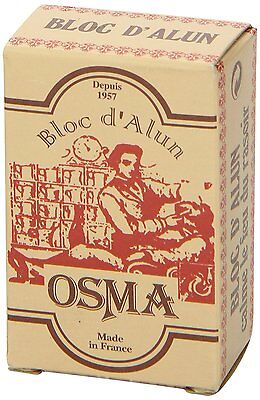 OSMA Alum Bloc | 75g block | Stem Bleeding Nicks | Soothes Irritation | Styptic 3