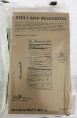 Sopakco Case of 12 MRE Meals Ready To Eat Emergency Food Rations - In Stock AL 9