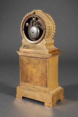 French Antique Charles X Ormolu Bronze Mantel Clock Depicting Cupid & Psyche 7