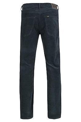 LEE PANTALONI DA uomo in velluto a coste jeans di neri