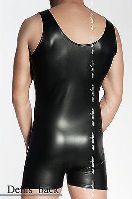 MeSeduce Dessous Herrenbody Männerbody Bodys schwarz Clubwear Reizwäsche sexy