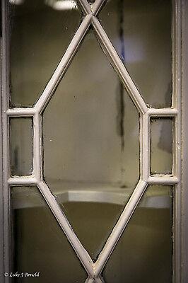18th Century Painted Glazed Corner Cupboard 2