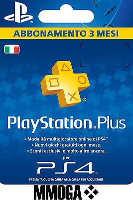 PLAYSTATION PLUS Abbonamento 3 Mesi - 90 GIORNI Sony PSN PS4 PS3 PS Vita - IT 2