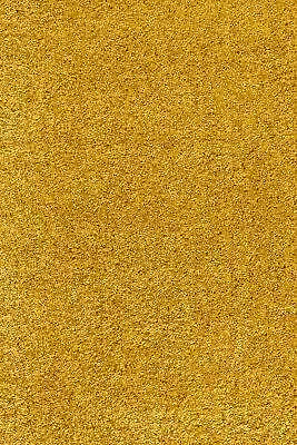 5cm HIGH PILE SMALL LARGE PREMIUM QUALITY SHAGGY RUG OCHRE YELLOW MUSTARD GOLD 5