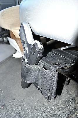 10 Of 12 Concealed Under Car Seat Pistol Holster Wall Mount Bedroom Closet Gun