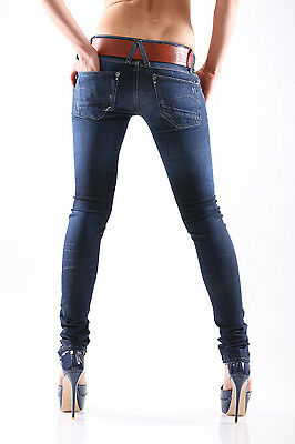 Nuovo G-Star Lynn Skinny Wmn Slim Fit Jeans Pantaloni Donna Relish Superstretch 4
