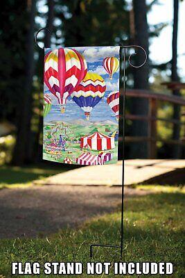 Toland Fair Balloons Garden Flag 8 98 Picclick
