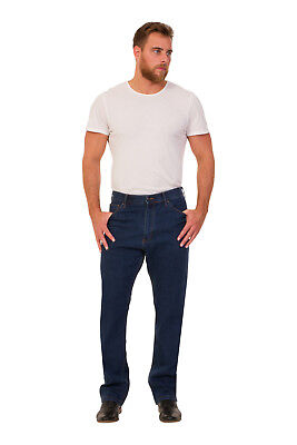 Ex M&S Mens Jeans Straight Leg Regular Fit Added Stretch With Stormwear RRp £35 2