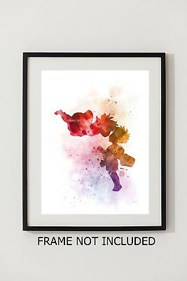 ART PRINT Ponyo, Studio Ghibli, Wall Art, Watercolour, Gift, Hayao Miyazaki 2