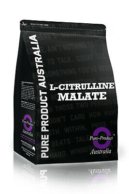 Pure L-Citrulline Malate - 1Kg Intra Workout Pump Muscle Builder Nitric Oxide 2