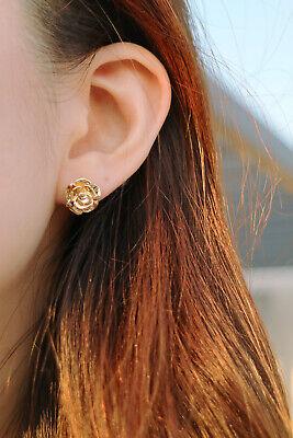 LEEVE Rose Gold Dipped Stud Earring Sterling Silver Post Korean trend Minimalism 2