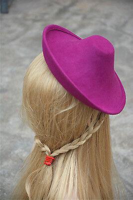New Ladies Wool Felt Hat Millinery Supply Fascinator Base Royal Ascot A264 5