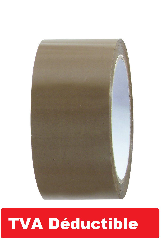 1 à 72 Rouleau, Ruban  ADHÉSIF EMBALLAGE marron havane; transparent ou blanc 7
