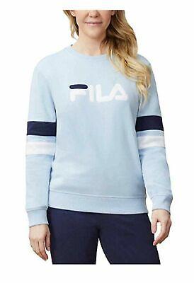 NEW Fila Ladies/' Heritage French Terry Crew Neck Sweatshirt VARIETY Size/&Color