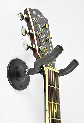 Guitar Wall Hanger Bracket Neck Support Fits Electric, Acoustic and Bass Guitars 4