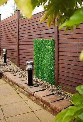Best Artificial Conifer Leaf Screening Hedging Wall Garden Fence Landscaping 6