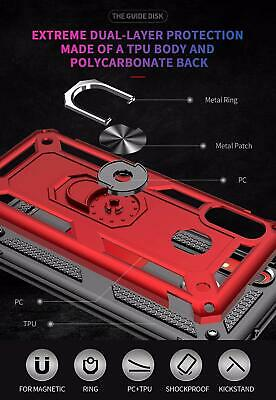 For Samsung Galaxy A20 A50 A70 A10e Shockproof Case 360 Magnetic Ring Armour 7